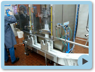 Image of the M5200 Vertical Form Fill Seal Machine