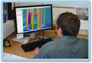 Image showing a member of our technical team