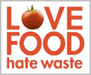 Image that links to the Love Food Hate Waste Campaign