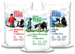 Image of Branded Milk Pouches